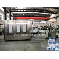 Buy cheap Fully Automatic Bottled Water Filling Line , Water Bottling Equipment Production Line product