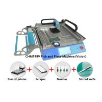 Buy cheap Vision System CMT 48V SMT Pick and Place Machine Kit With Stencil Printer Nozzles from wholesalers