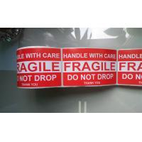 Buy cheap Handle with care-Fragile-Do not drop label from wholesalers