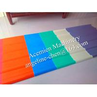 Buy cheap A turn key solution plastic wave tile roofing sheet material production line project product