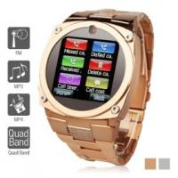 "Quality TW818B Unlocked Watch Cell Phone 1.6"" TFT Touch Screen Quad Band GSM Mobile for sale"