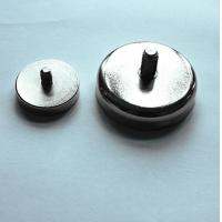 Buy cheap OEM super strong rare earth ndfeb magnetic assembly counter sunk and magnet hook from wholesalers