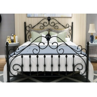 Buy cheap Home Modern 0.6mm Small Double Metal Bed Frame from wholesalers