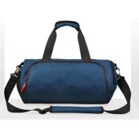 Buy cheap Large Size Round 600D Gym Duffel Bag Workout Gym Bag With Shoe Pocket from wholesalers