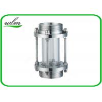Buy cheap Sanitary Straight / Inline Pipe Sight Glass Male Thread Connection , Reducing Shaped from wholesalers