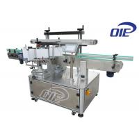 Buy cheap Single / Double Sided Table Top Bottle Labeling Machine With 100 - 300 PCS Per Minute from wholesalers