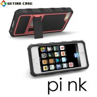 Buy cheap New Design PC + TPU Cell Phone Covers with Stand, Hard Case Cover for Iphone 5 from wholesalers