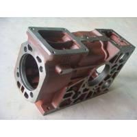 Buy cheap Red & Black Casting Iron Diesel Engine Cylinder Block For Construction Machinery Engine from wholesalers