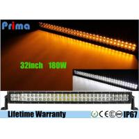 Buy cheap 32 inch Led Truck Light Bar Wireless Remote Control 180W Super Cool Yellow White from wholesalers