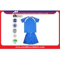 Buy cheap Custom Soccer Team Wear Youth Customizable Soccer Jerseys / Football T Shirt from wholesalers