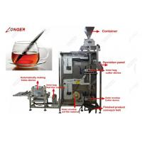Buy cheap Stainless Steel Stick Tea Bag Packing Machine| Green Tea Bag Packing Machine for Sale from wholesalers