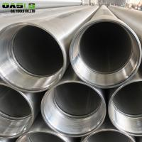 Buy cheap 10 Inch 304 Stainless Steel Casing Pipes With Threaded Coupling ERW Technique from wholesalers