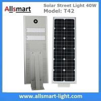 Buy cheap 40W All in One Solar Street Lights Integrated Solar LED Street Light Motion Sensor Solar Lights Outdoor Driveway Lights from wholesalers