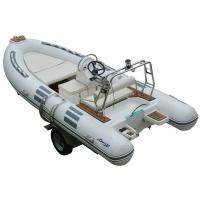 Buy cheap Hand Made FRP Inflatable RIB Boats , Deep - V Fiberglass Hull Inflatable Fishing Dinghy from wholesalers