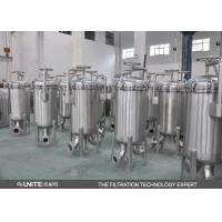 China Muilty bag stainless steel filter housing for petrochemical industry on sale