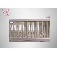 Buy cheap Universal Castor Wooden Baby Cot Pro - Environment Paint For 0 - 6 Years from wholesalers