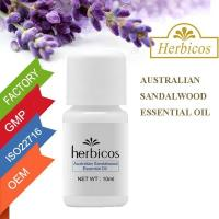 Buy cheap 10ml Australian Sandalwood Pure Essential Oils / Sandalwood Essential Oil  from wholesalers