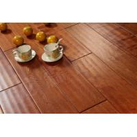 Buy cheap handscraped birch solid hardwood flooring, different grades available from wholesalers