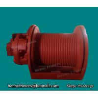 Buy cheap Hydraulic winch for piling and drilling machine from wholesalers