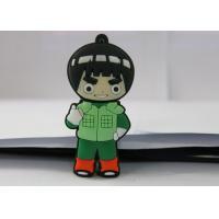 Naruto PVC mould Custom USB Memory Stick , Usb Flash Thumb Drive Rock Lee