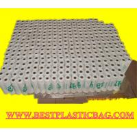 Buy cheap Supermarket custom biodegradable transparent pe ldpe hdpe packaging t-shirt shopping plast from wholesalers