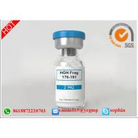Buy cheap Professional Polypeptide Lyophilized Powder HGH Fargment 176 191 For Fitness from wholesalers