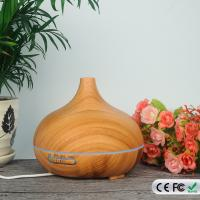 Buy cheap 300ML Wood Grain Oil Cool Mist Aroma Diffuser Ultrasonic Humidifier Essetial Oil Diffuser from wholesalers