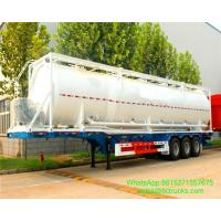 Buy cheap 40ft bulk cement tank containers for sale Portable iso Tank Container  WhatsApp:8615271357675  Skype:tomsongking from wholesalers