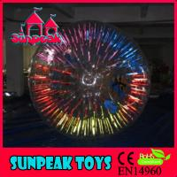 Buy cheap Z-073 Clear and Shining Zorb Ball Inflatable Zorb from wholesalers