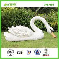 Buy cheap Resin Animal Decoration Garden Swan Statue from wholesalers
