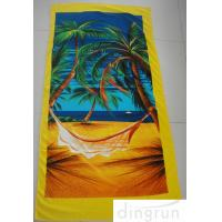 Buy cheap Beach Pool Promotional Microfiber Cleaning Cloth Bath Wrap Super Soft And Absorbent from wholesalers