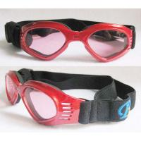 Buy cheap red Dog Sunglasses Goggles / Pet goggles With Eye Protection UV400 from wholesalers
