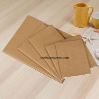 Buy cheap Factory directly sale drawing pad paper recycled kraft cover notebook from wholesalers