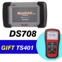 Buy cheap Autel MaxiDAS DS708 Get MaxiTPMS TS401 As Gift for Car Diagnostics Scanner from wholesalers