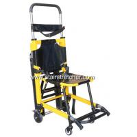 Buy cheap Aluminium Alloy Stair Stretcher , Unique Track Belt Stair Evacuation Chair from wholesalers