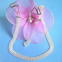 Buy cheap Diamond/Metal Bra Straps, Customized Designs are Accepted from wholesalers