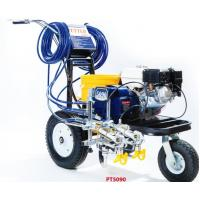 Buy cheap Petrol Engined Road Line Marking Machine 4.0L/Min Delivery Rate from wholesalers