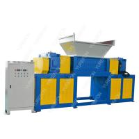 Buy cheap Cardboard Carton Paper Shredder Machine High Throughput Rate With Two Shaft from wholesalers