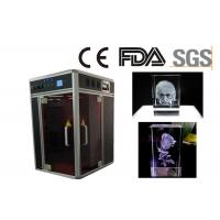 Buy cheap Single Phase 3D Laser Glass Engraving Machine CE / FDA Certificated from wholesalers