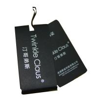 Buy cheap Custom Printed Clothing Tags  5cm x 10cm custom Logo Shape Own Logo For  Clothes from wholesalers