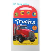 Buy cheap Custom Mold Toy Trucks Baby Sound Books for Indoor Kid's Eductational Learning from wholesalers