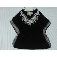 Buy cheap Black Fashion Nation Wind Ladies / Womens Knit Tops With Special Design from wholesalers