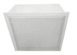 Buy cheap Cleanroom Hepa Filter Terminal Box Class 10000 For Electronic Plant product