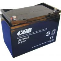 China 12V 90Ah Sealed Deep Cycle Marine Battery , Vrla Deep Cycle Battery on sale