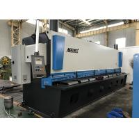 Buy cheap Auto Cutting Sheet Metal Guillotine Cutter With Germany Bosch Rexroth Hydraulic System from wholesalers