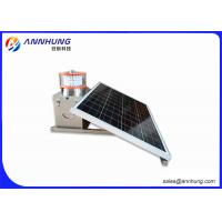 China White Medium-intensity Type A Solar Powered Aviation Light for High building on sale