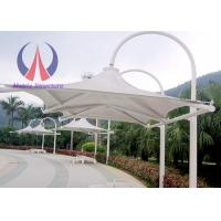 Buy cheap Outdoor Patio Cantilever Umbrella , Foundation Fixed Side Patio Umbrella‎ For Pavilion from wholesalers