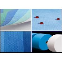Buy cheap Polypropylene SMS Nonwoven Fabric / Spunbond Non Woven Fabric 160cm 240cm 320cm from wholesalers