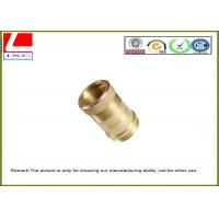 Buy cheap Industrial Custom Brass shaft  Anodized precision cnc machining parts from wholesalers