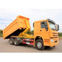 Buy cheap Right Hand Drive HOWO 6X4 Hook Lift Garbage Truck 15t 20t Refuse Compactor Truck from wholesalers